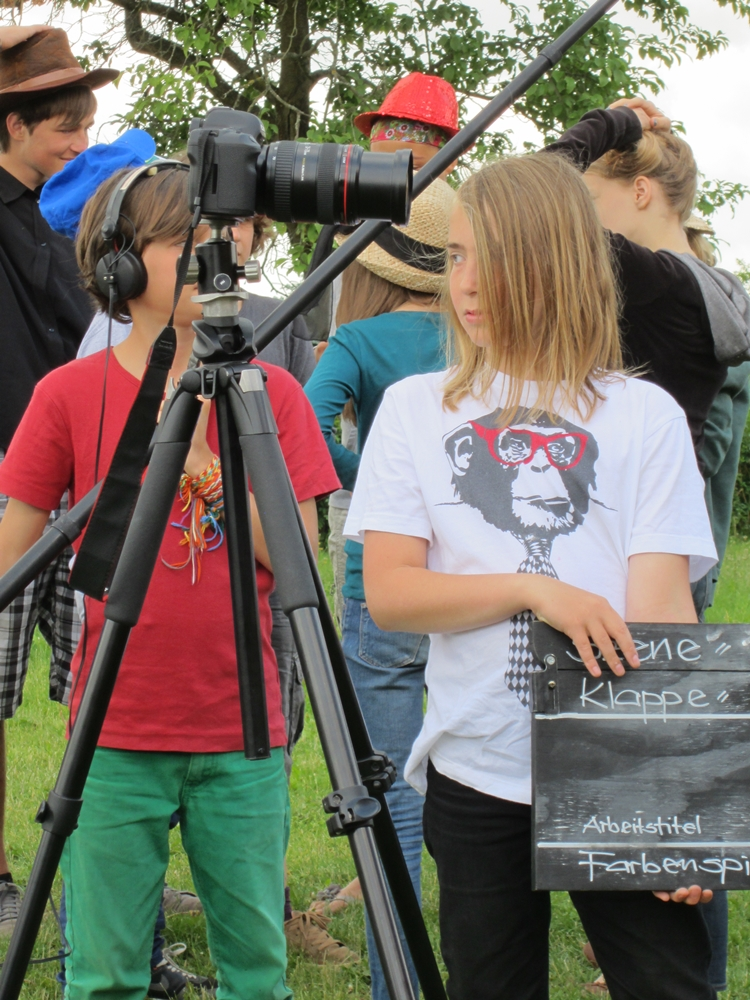 Filmcamp in Babke